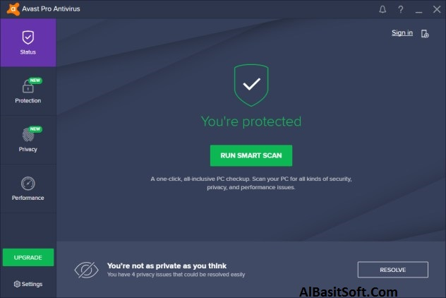 Avast Pro Antivirus With Keys 2018 247.0 MB Free Download(AlBasitSoft.Com)