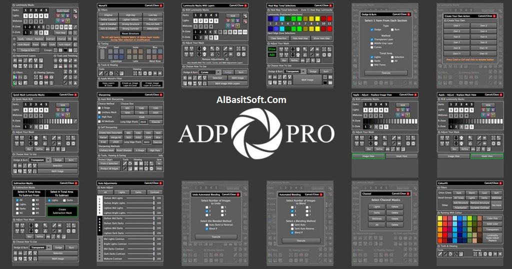 ADP Pro 3.1 for Adobe Photoshop Full Cracked (Windows macOS) Free Download(AlBasitSoft.Com)