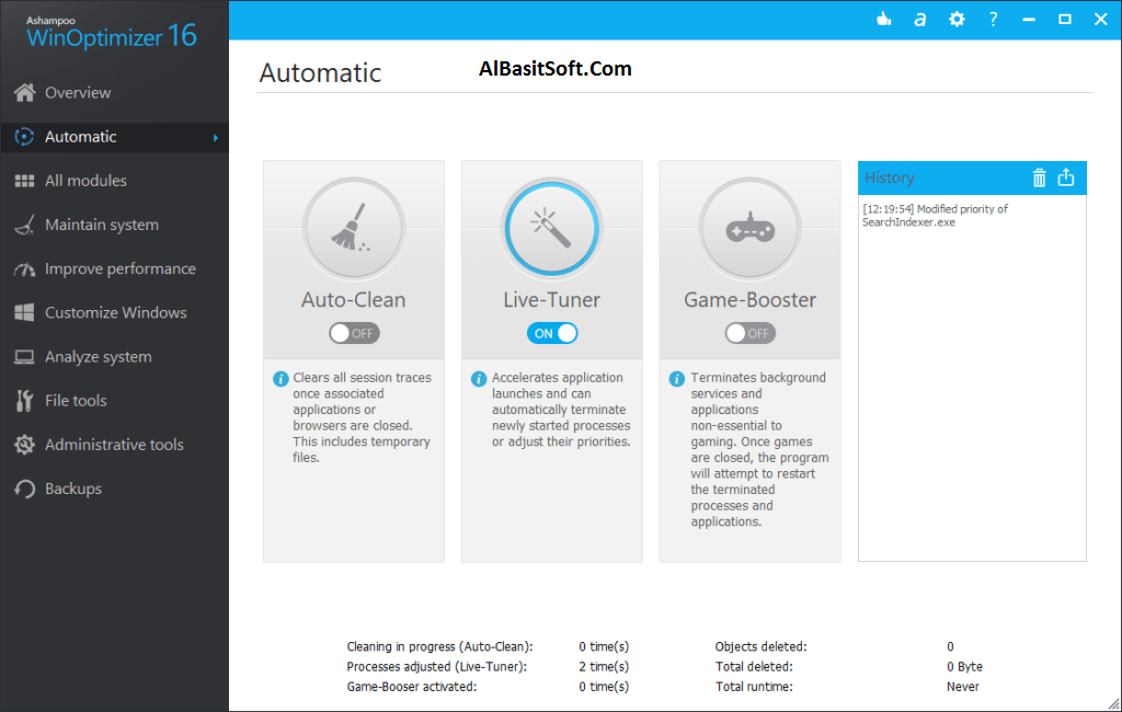 Ashampoo WinOptimizer 16.00.20 With Crack Free Download(AlBasitSoft.Com)