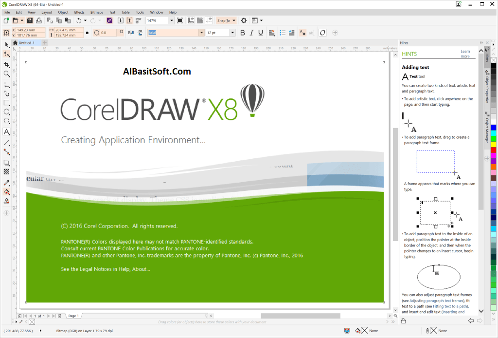 CorelDRAW Graphics Suite X8 18.1.0.661 With Keygen Serial Key Free Download(AlBasitSoft.Com)