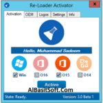 Re-Loader Activator 3.0 Beta 3 Multilingual [Latest] Free Download(AlBasitSoft.Com)