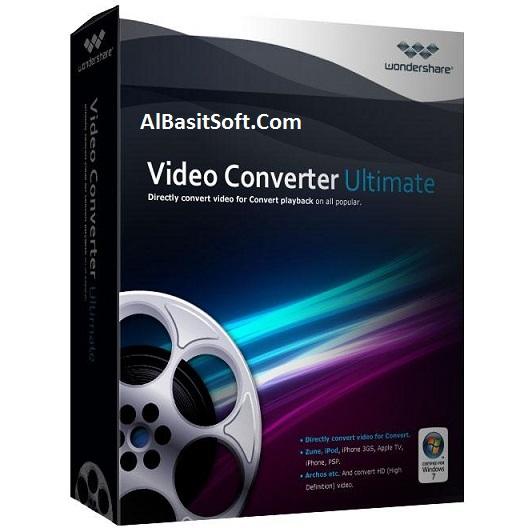 Wondershare Video Converter Ultimate 8.7.0.5 With Crack Free Download(AlBasitSoft.Com)