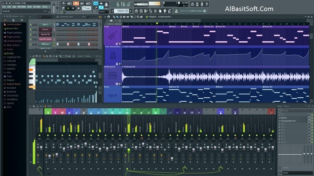 FL Studio Producer Edition 20.0.5 Build 681 With Crack Free Download(AlBasitSoft.Com)