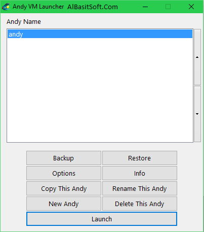 AndY OS Android Emulator v0.46.2.25 (x86) Final Fee Download(AlBasitSoft.Com)