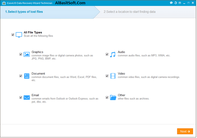 EaseUS Data Recovery Wizard Professional Technician 11.8.0 Keygen Free Download(AlBasitSoft.Com)