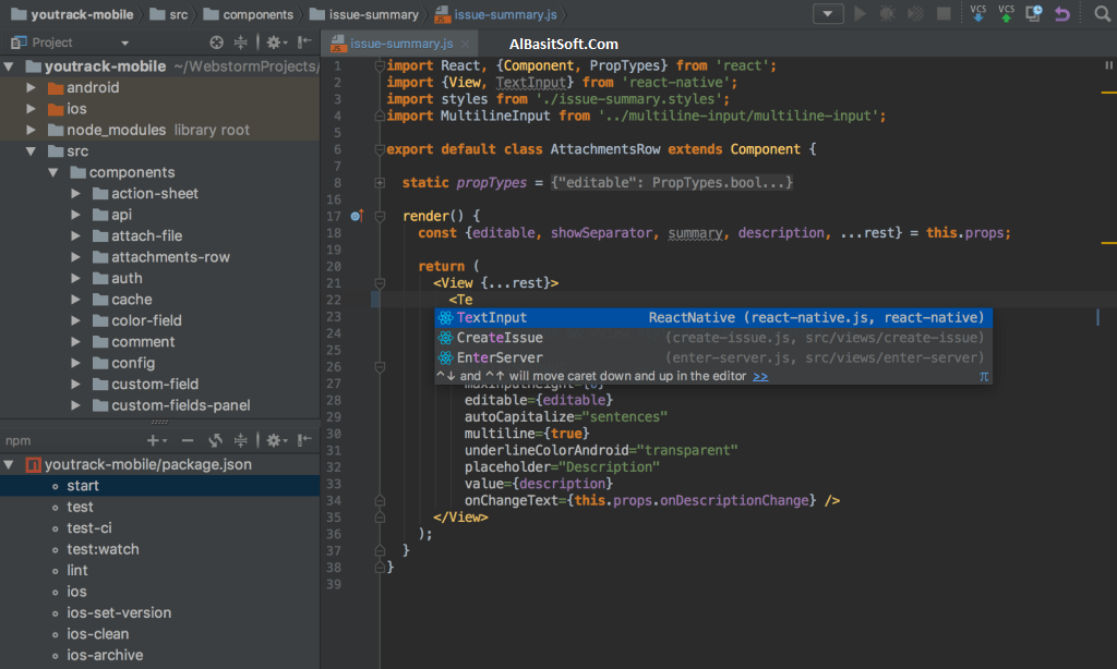 JetBrains WebStorm 2018.3.2 Wth License Key Free Download(AlBasitSoft.Com)