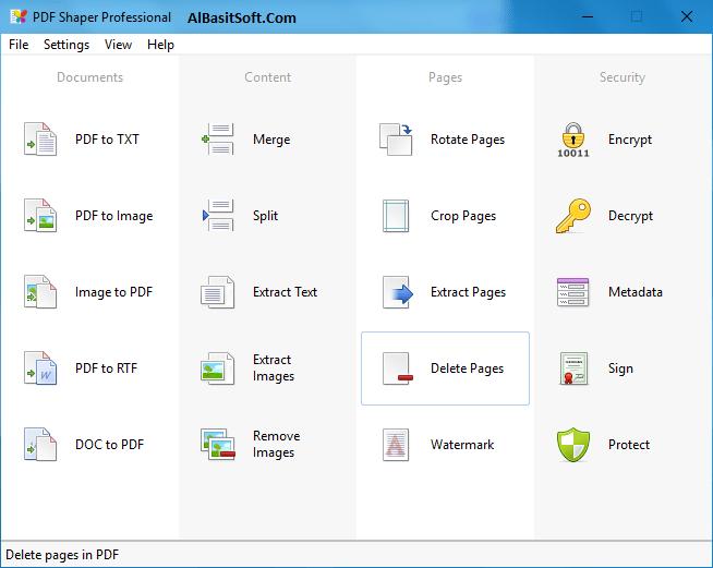 PDF Shaper Professional 8.9 With Crack Free Download(AlBasitSoft.Com)