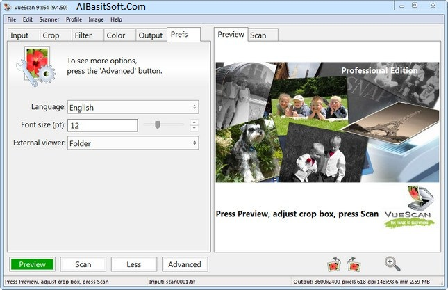 VueScan 9.6.21 x64 Portable Launch Free Download(AlBasitSoft.Com)
