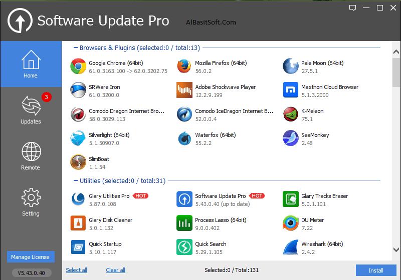 Glarysoft Software Update Pro 5.44.0.41 Serial Key [Latest] Free Download(AlBasitSoft.Com)
