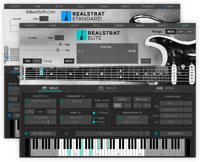 MusicLab RealStrat 5.0.0.7420 With License Key Free Download(AlBasitSoft.Com)