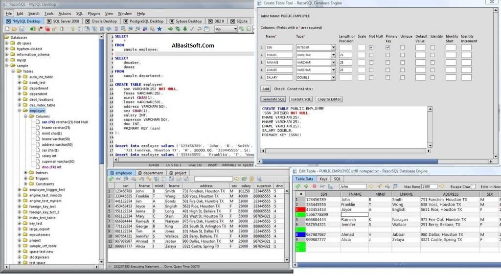 RazorSQL 8.2.2 Full Crack+License Key Free Download(AlBasitSoft.Com)