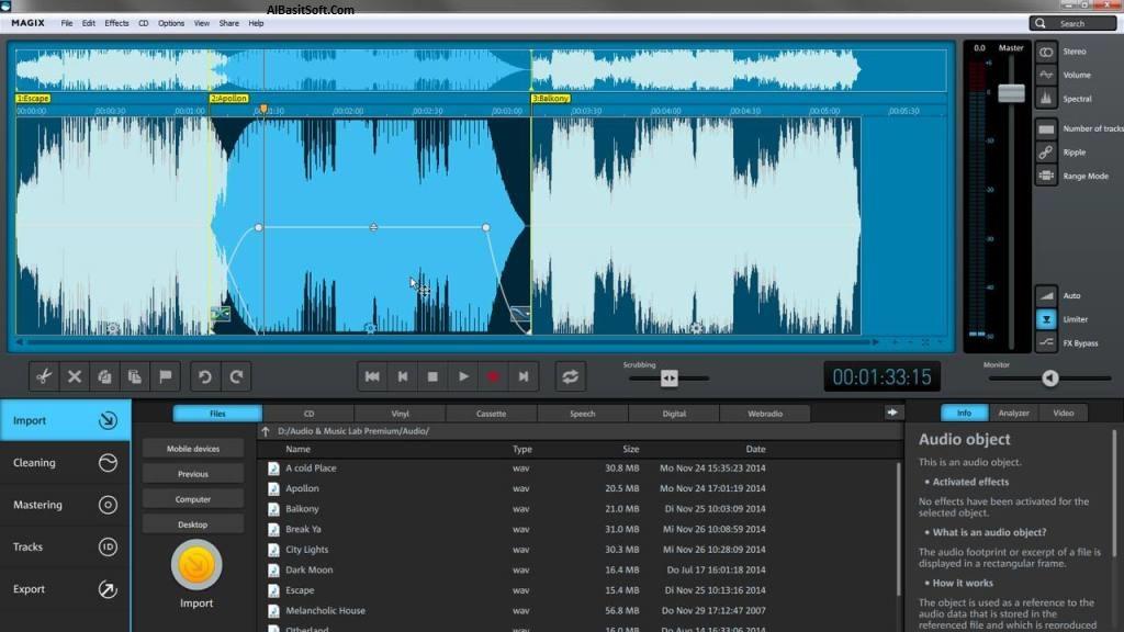 MAGIX Audio & Music Lab 2017 Premium 22.2.0.53 With Crack Free Download(AlBasitSoft.Com)