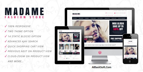 Madame Theme for WordPress Free Download(AlBasitSoft.Com)