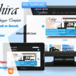Syahira Responsive Blogger Template Free Download