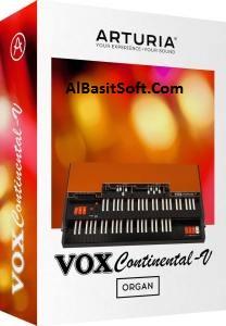 Arturia VOX Continental V2 v2.4.0.2695 With Crack Free Download(AlBAsitSoft.Com)