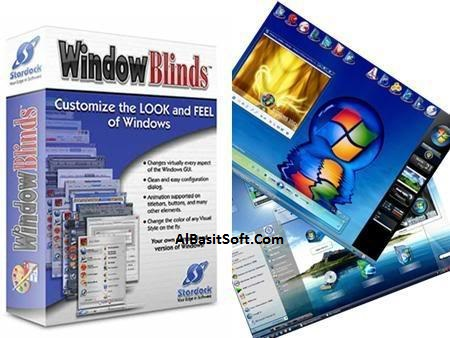 Stardock WindowBlinds 8.13 Incl Crack+460 Theme Collection(AlBasitSoft.Com)