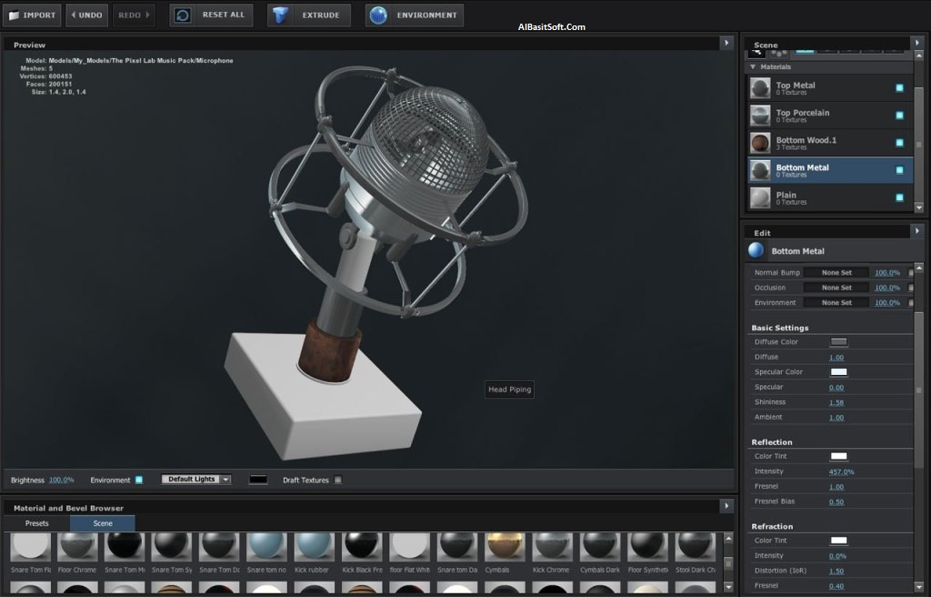 Video Copilot Element 3D 2.2.2 With Crack Free Download(AlBasitSoft.Com)