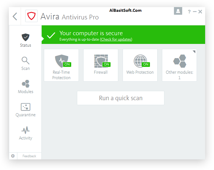 Avira Antivirus Pro 15.0.45.1214 With Cack (AlBasitSoft.Com)