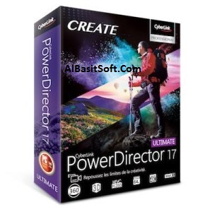 CyberLink PowerDirector Ultimate 17.0.2727.0 With Crack(AlBasitSoft.Com)