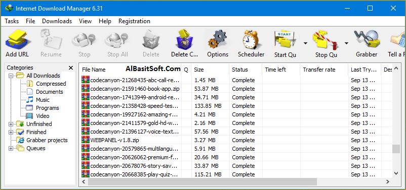 Internet Download Manager 6.33 Build 1 With Crack(AlBasitSoft.Com)