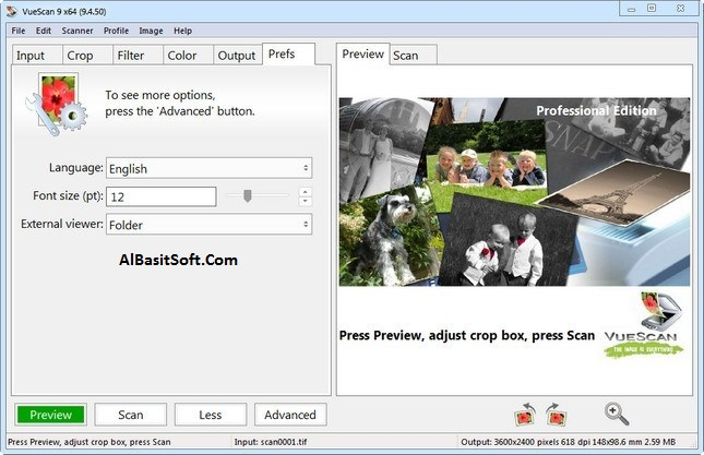 VueScan Pro 9.6.41 With Crack Free Download(AlBasitSoft.Com)
