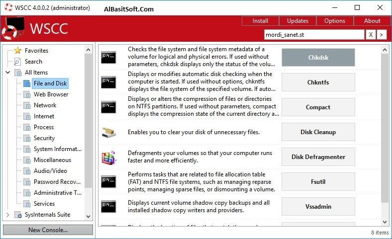 WSCC – Windows System Control Center 4.0.0.5 With Crack Free Download(AlBasitSoft.Com)