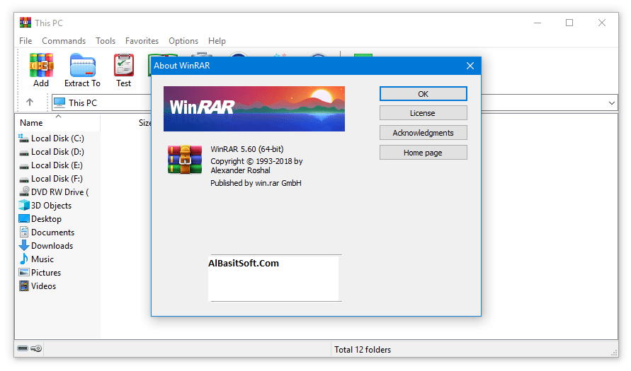 WinRAR 5.71 Lifetime Crack Full Version (x86x/64) Free Download(AlBasitSoft.Com)