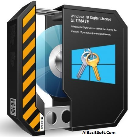 Windows 10 Digital License Ultimate 1.2 With Crack Free Download(AlBasitSoft.Com)