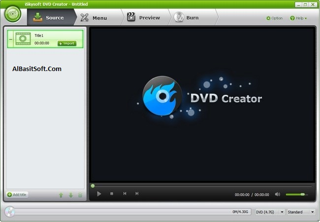 iSkysoft DVD Creator 6.2.2.96 With Crack Free Download(AlBasitSoft.Com)