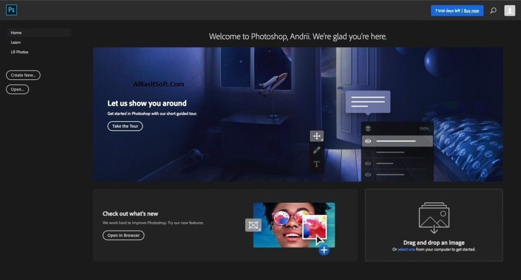 Adobe Photoshop CC 2019 v20.0.5.27259 With Crack Free Download(AlBasitSoft.Com)