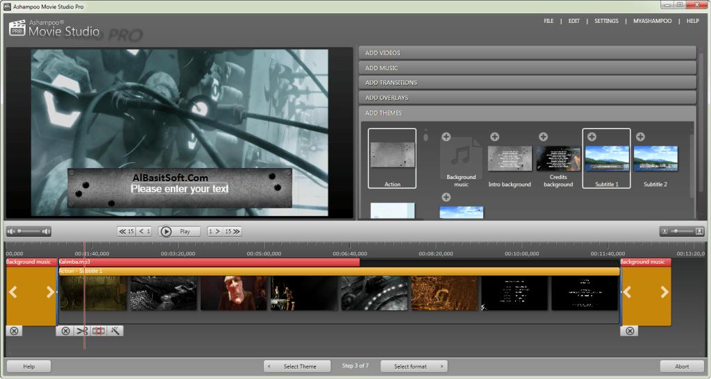 Ashampoo Movie Studio Pro 3.0.1 With Crack Free Download(AlBasitSoft.Com)