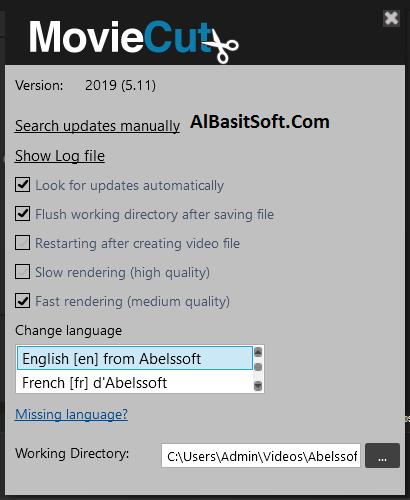 Abelssoft MovieCut 2019 v5.11 with Crack Free Download(AlBasitSoft.Com)