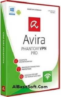 Avira Phantom VPN Pro 2.26.1.17464 With Crack Free Download(AlBasitSoft.Com)