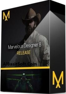 Marvelous Designer 8 v4.2.297.40946 With Crack Free Download(AlBasitSoft.Com)