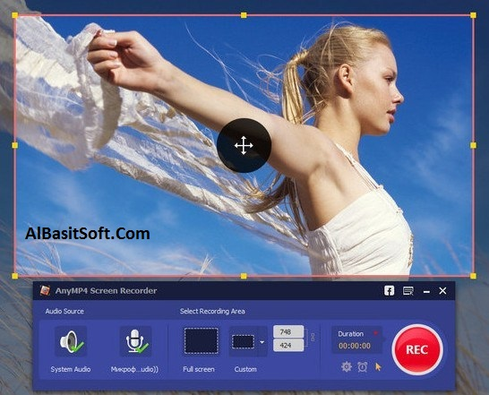 AnyMP4 Screen Recorder 1.2.26 With Crack Free Download(AlBasitSoft.Com)