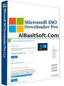 Microsoft ISO Downloader Premium 2019 v1.2 With Crack Free Download(AlBasitSoft.Com)