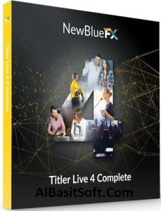 NewBlueFX Titler Live 4 Complete 4.0.190717 With Crack Free Download(AlBasitSoft.Com)