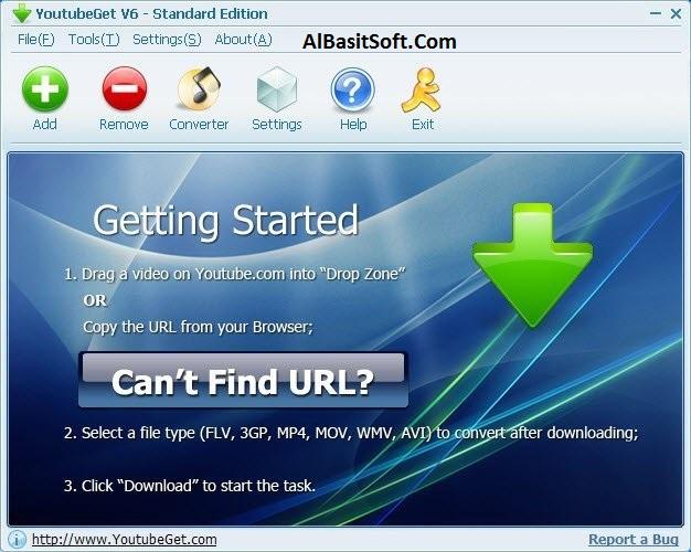 YouTubeGet 7.3.0 With Crack Free Download(AlBasitSoft.Com)