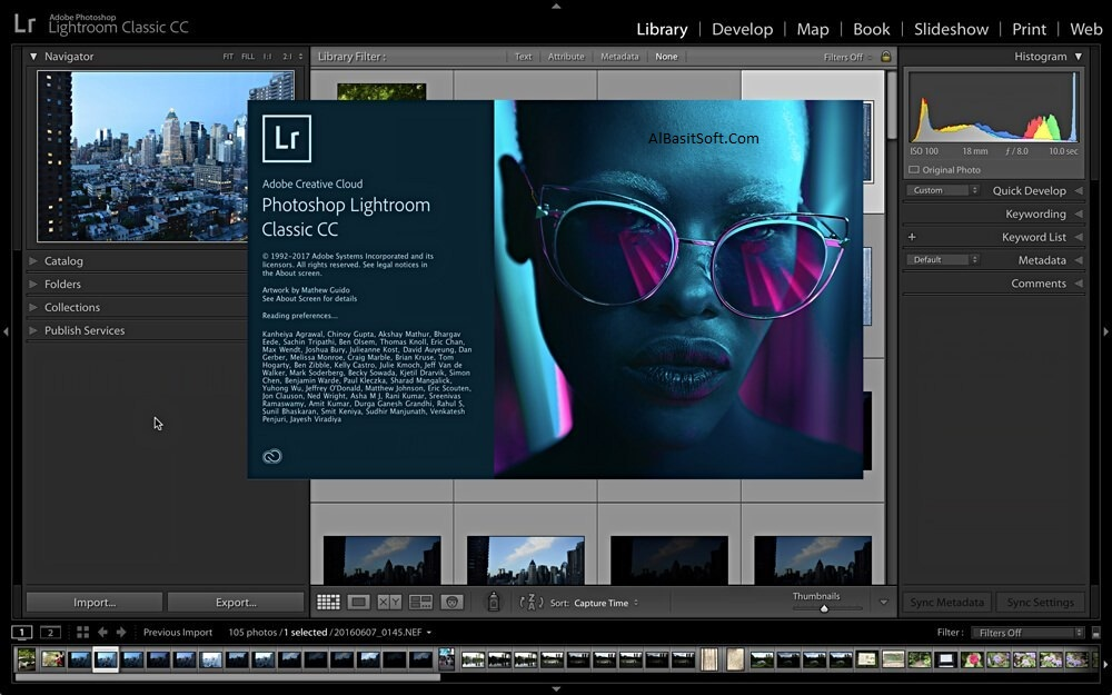 Adobe Photoshop Lightroom Classic 2019 v8.4.1.10 With Crack Free Download(AlBasitSoft.Com)