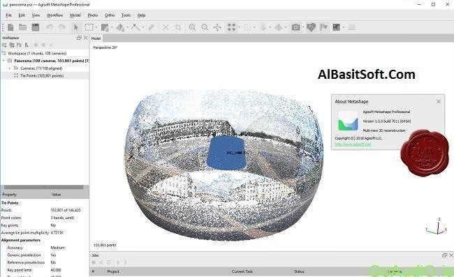Agisoft Metashape Professional 1.5.4 With Crack Free Download(AlBasitSoft.Com)