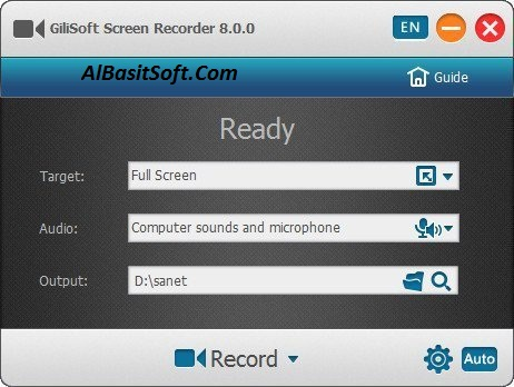 Gilisoft Screen Recorder 10.2.0 With Crack Free Download(AlBasitSoft.Com)