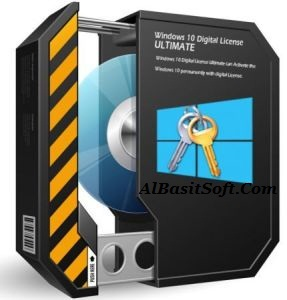 Windows 10 Digital License Ultimate 1.5 With Crack Free Download(AlBasitSoft.Com)