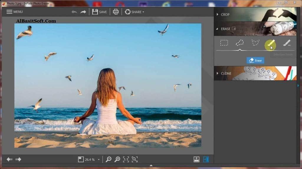 InPixio Photo Eraser 8.5.6739.20526 With Crack(AlBasitSoft.Com)