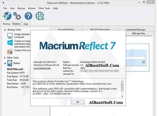Macrium Reflect 7.2.4440 Server Plus (x64) WinPE With Crack(AlBasitSoft.Com)