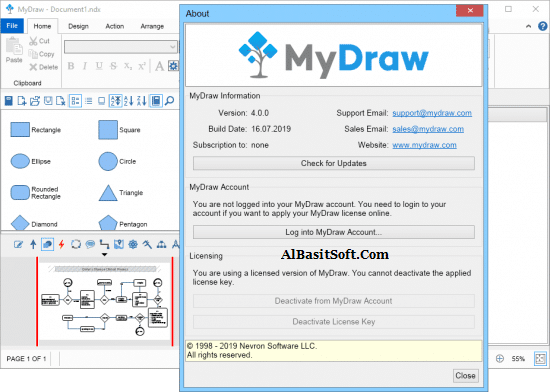 MyDraw 4.1.1 With Crack Free Download(AlBasitSoft.Com)