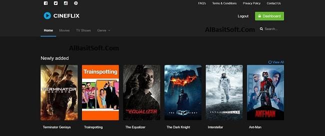 Cineflix - Movie Info PHP Script Free Download(AlbasitSoft.Com)