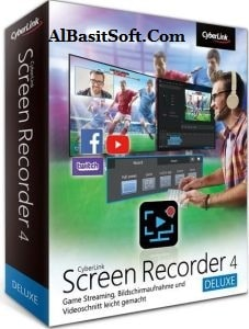 CyberLink Screen Recorder Deluxe 4.2.3.8860 With Crack(AlBasitSoft.Com)
