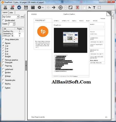 FinePrint 10.06 With Crack Free Download(AlBAsitSoft.Com)