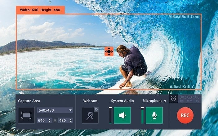 Movavi Screen Recorder 11.1.0 With Crack Free Download(AlBasitSoft.Com)