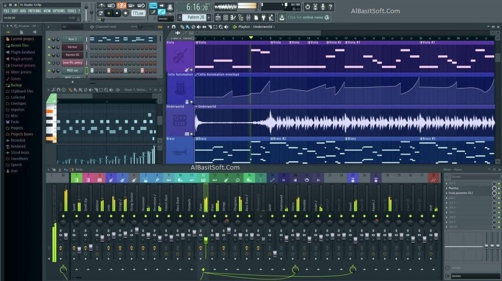FL Studio Producer Edition 20.6.1 Build 1513 With Crack Free Download(AlBasitSoft.Com)